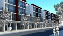 Thiết kế Nhà phố thương mại 120m2 - Mẫu 8A